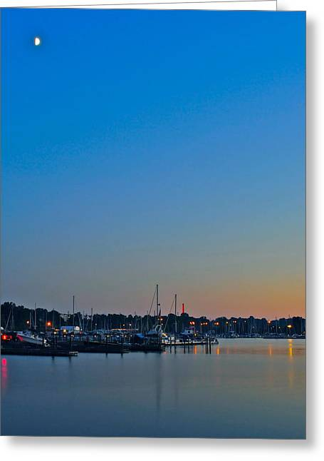Hypnotizing Greeting Cards - Twilight Greeting Card by Frozen in Time Fine Art Photography