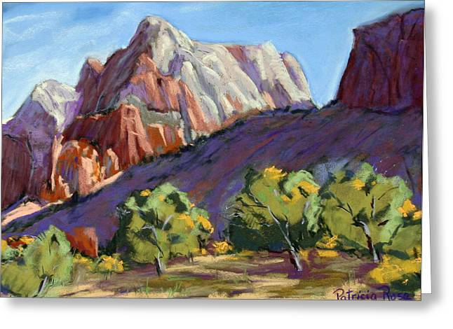 Twin Brothers Vista Greeting Card by Patricia Rose Ford