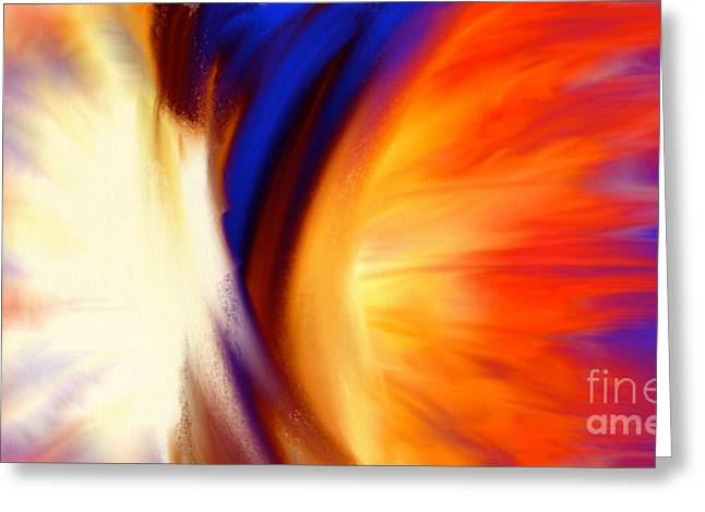 Emerging Artist Greeting Cards - Twisted Greeting Card by Anita Lewis