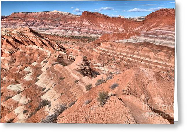 Paria Greeting Cards - Twisted Badlands Rainbows Greeting Card by Adam Jewell