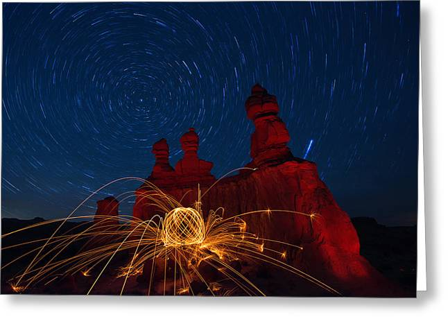 Southern Utah Greeting Cards - Twisted Sisters Greeting Card by Dustin  LeFevre