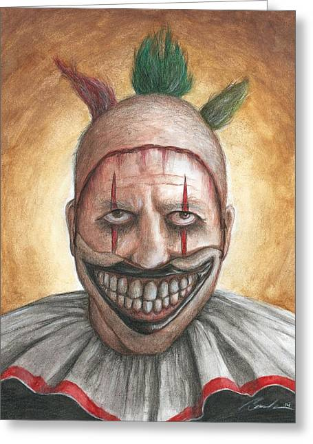 Bruce Lennon Greeting Cards - Twisty Greeting Card by Bruce Lennon