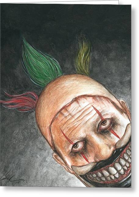 Bruce Lennon Greeting Cards - Twisty Night Greeting Card by Bruce Lennon