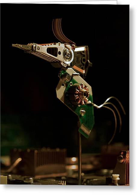 Electronics Photographs Greeting Cards - Twitter Greeting Card by Davorin Mance