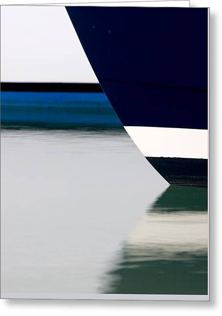 Two Boats Edgartown Greeting Card by CJ Middendorf