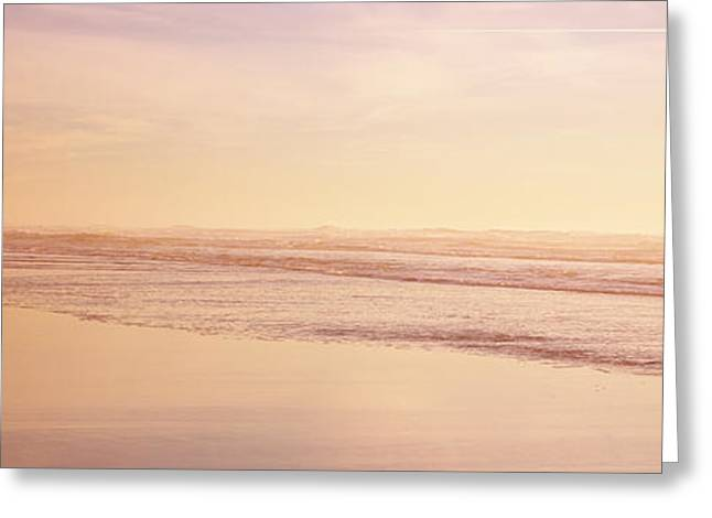 Children Only Greeting Cards - Two Children Playing On The Beach, San Greeting Card by Panoramic Images