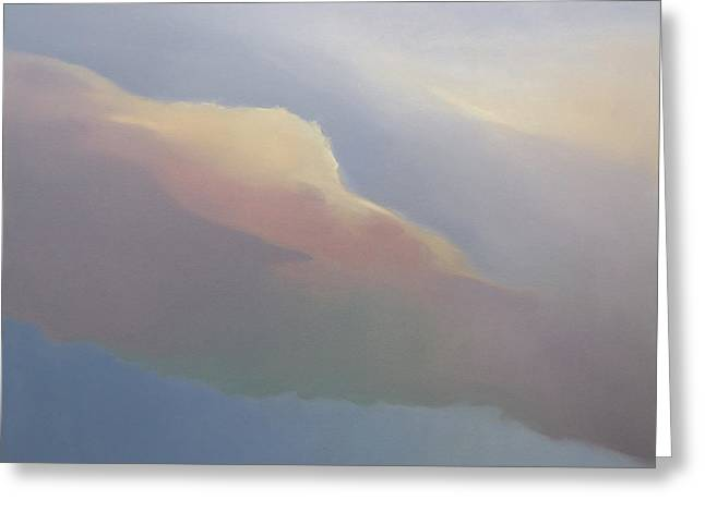 Two Clouds Greeting Card by Cap Pannell