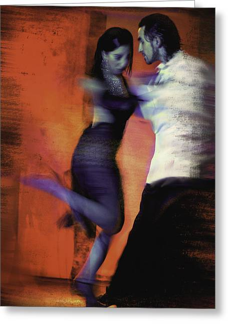 Two For Tango Greeting Card by Steven Boone