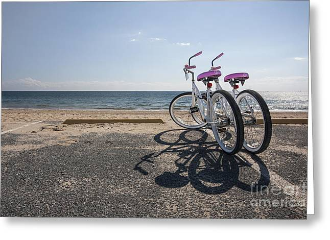Provincetown Greeting Cards - Two If By The Sea Greeting Card by Evelina Kremsdorf