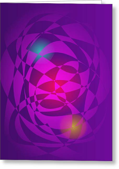 Gradations Digital Art Greeting Cards - Two Powers Greeting Card by Masaaki Kimura