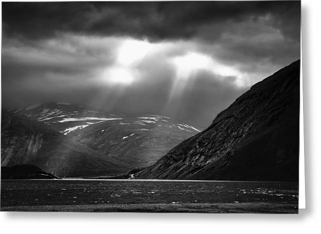 Sunset Photography Greeting Cards - Two Rays Greeting Card by Ben Shields