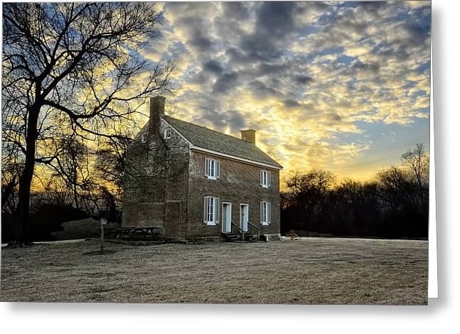 Nashville Tennessee Greeting Cards - Two Rivers Plantation Greeting Card by Steven  Michael