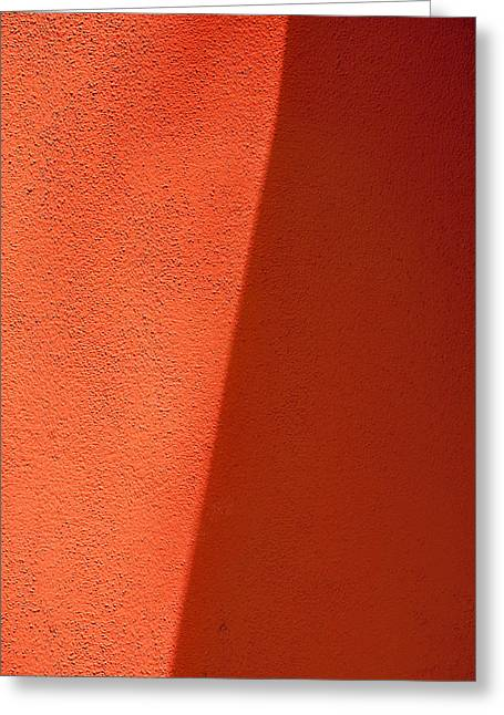 Sienna Greeting Cards - Two Shades of Shade Greeting Card by Peter Tellone