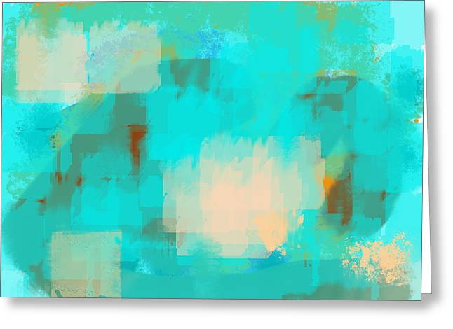 Inner Reality Mixed Media Greeting Cards - Two sided world Greeting Card by Len YewHeng