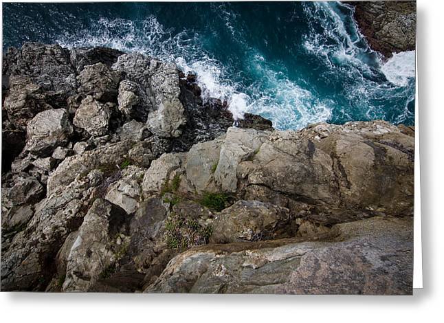 Big Sur Beach Greeting Cards - Two Steps From Disaster  Greeting Card by Justin Matoi