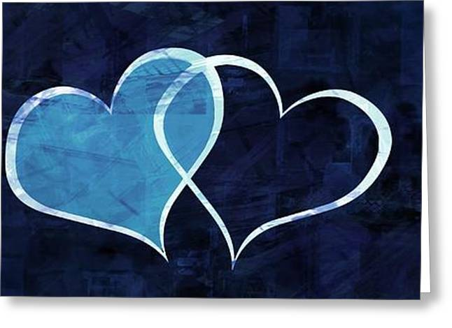 Heart Images Digital Greeting Cards - Two Will Become One Greeting Card by Aaron Berg
