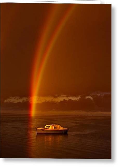 Geelong Greeting Cards - Twofold Covenant Greeting Card by Phil Thomson