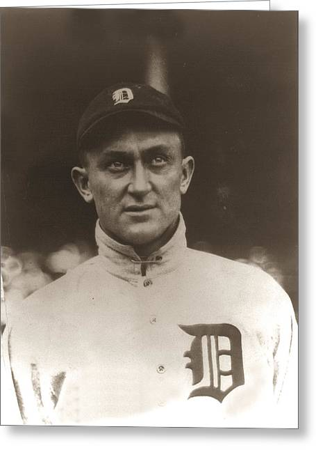 Ty Cobb Greeting Cards - Ty Cobb 1915 Greeting Card by Unknown