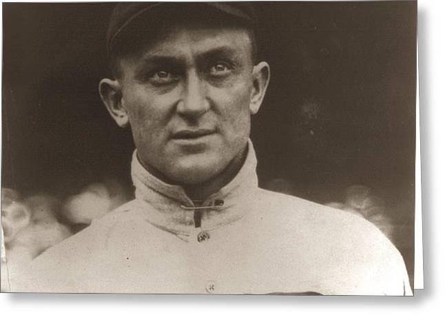 Ty Cobb 1915 Greeting Card by Unknown