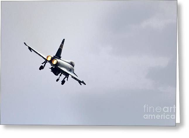 Triple Tail Greeting Cards - Typhoon Burner Greeting Card by J Biggadike