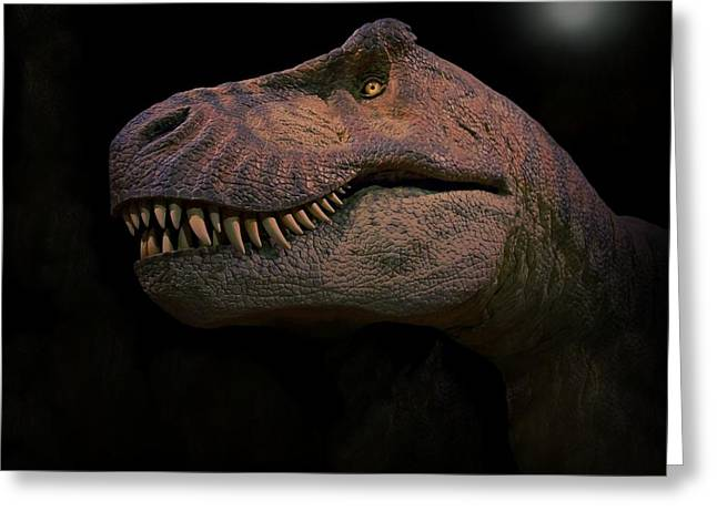 T-rex Greeting Cards - Tyrannosaurus Just Before Extinction  Greeting Card by Movie Poster Prints