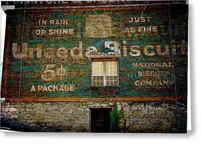 Kitchen Wall Greeting Cards - U Need A Biscuit Greeting Card by Brandon Addis