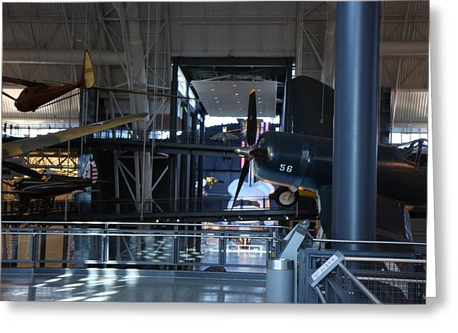 Udvar-hazy Center - Smithsonian National Air And Space Museum Annex - 12121 Greeting Card by DC Photographer