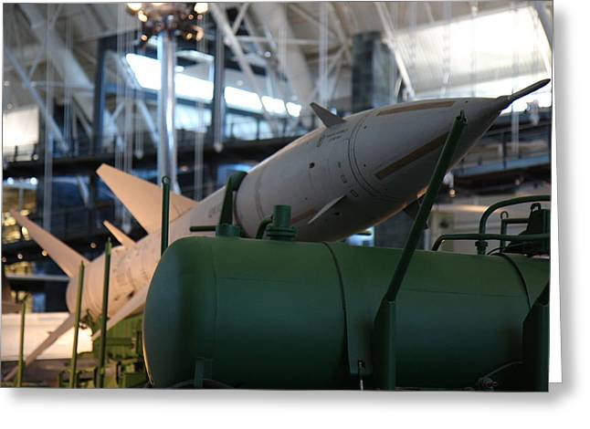 Jet Greeting Cards - Udvar-Hazy Center - Smithsonian National Air And Space Museum annex - 121224 Greeting Card by DC Photographer