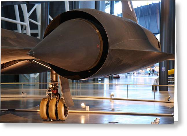 Jet Greeting Cards - Udvar-Hazy Center - Smithsonian National Air And Space Museum annex - 121230 Greeting Card by DC Photographer