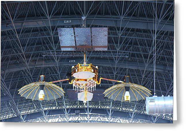 Rocket Greeting Cards - Udvar-Hazy Center - Smithsonian National Air And Space Museum annex - 121256 Greeting Card by DC Photographer