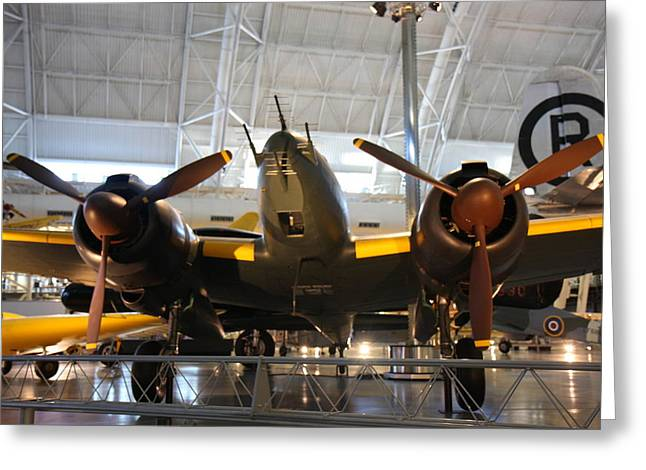 Air Greeting Cards - Udvar-Hazy Center - Smithsonian National Air And Space Museum annex - 121285 Greeting Card by DC Photographer