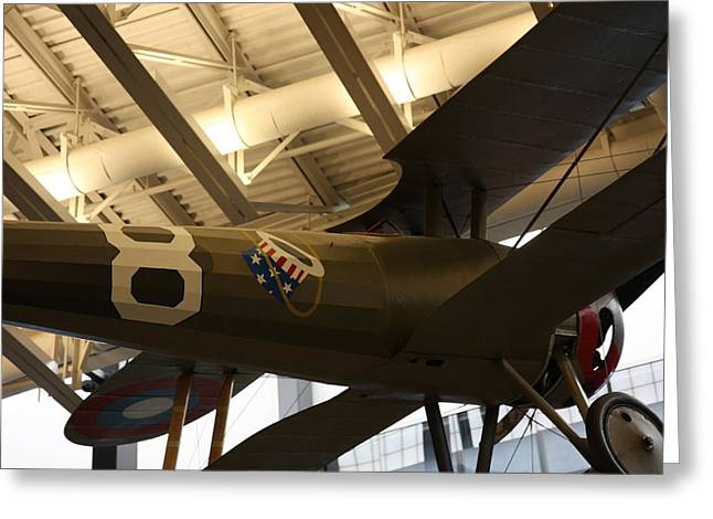 Space Greeting Cards - Udvar-Hazy Center - Smithsonian National Air And Space Museum annex - 121294 Greeting Card by DC Photographer