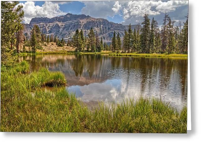 Summit County Greeting Cards - Uinta Mountains Utah Greeting Card by Utah Images