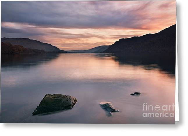 Fell Greeting Cards - Ullswater Greeting Card by Rod McLean