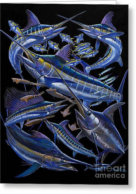 Billfish Foundation Greeting Cards - Ultimate Goal Off00128 Greeting Card by Carey Chen