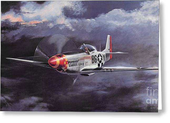 The Right Stuff Greeting Cards - Ultimate High Greeting Card by Michael Swanson