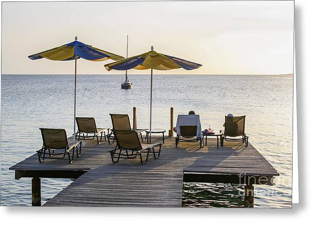 Bonaire Greeting Cards - Ultimate relaxation Greeting Card by Patricia Hofmeester
