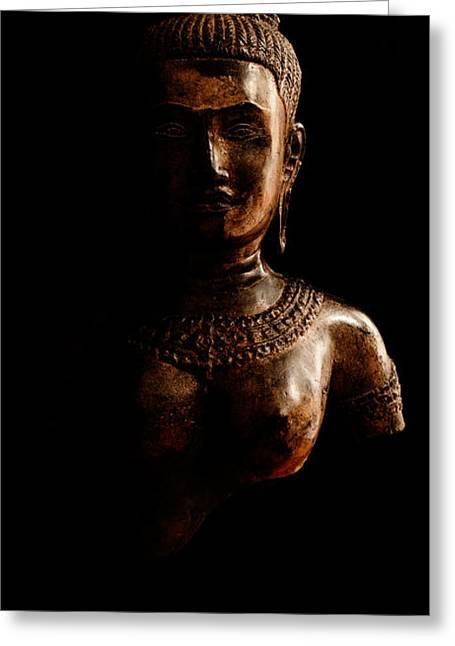 Hindu Goddess Greeting Cards - Uma Greeting Card by Weston Westmoreland