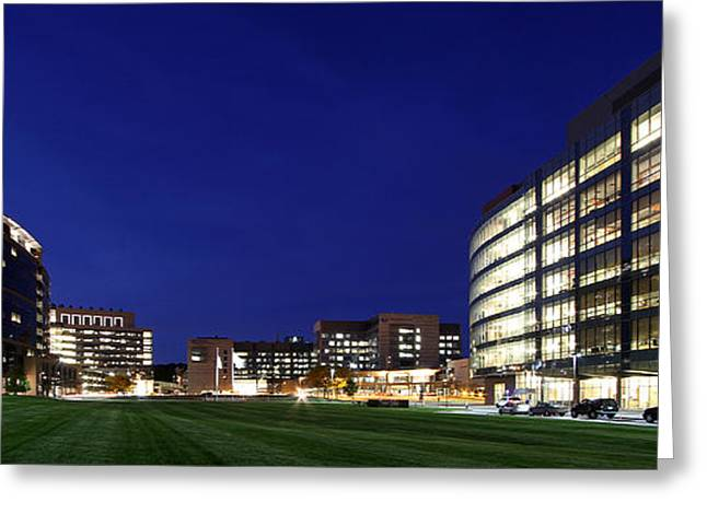 Central Ma Greeting Cards - UMass Memorial Medical Center  Greeting Card by Juergen Roth