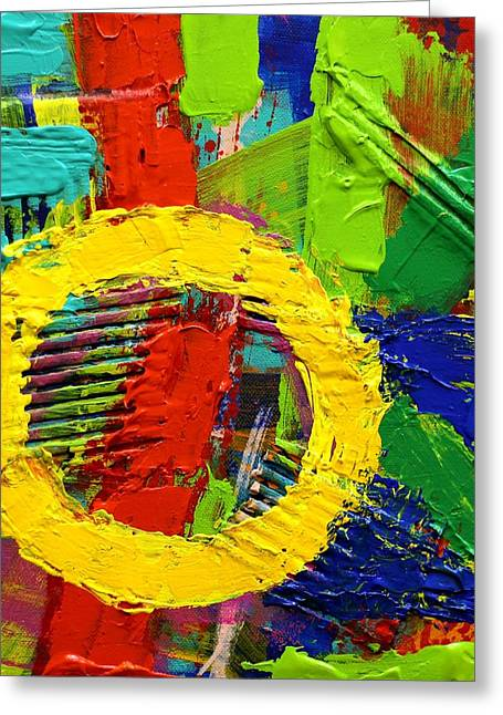 Joyce Greeting Cards - Unboundedness I Greeting Card by John  Nolan