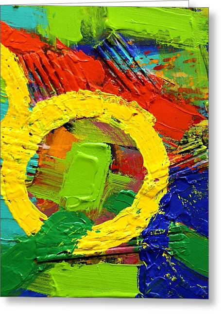 Joyce Greeting Cards - Unboundedness II Greeting Card by John  Nolan