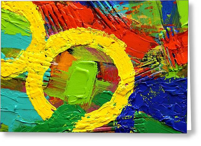 Unboundedness II Greeting Card by John  Nolan