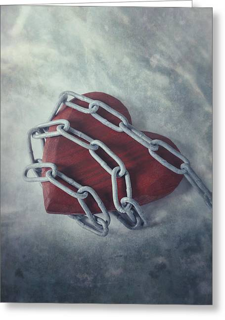 Vulnerable Greeting Cards - Unchain My Heart Greeting Card by Joana Kruse
