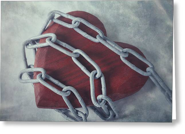 unchain my heart Greeting Card by Joana Kruse