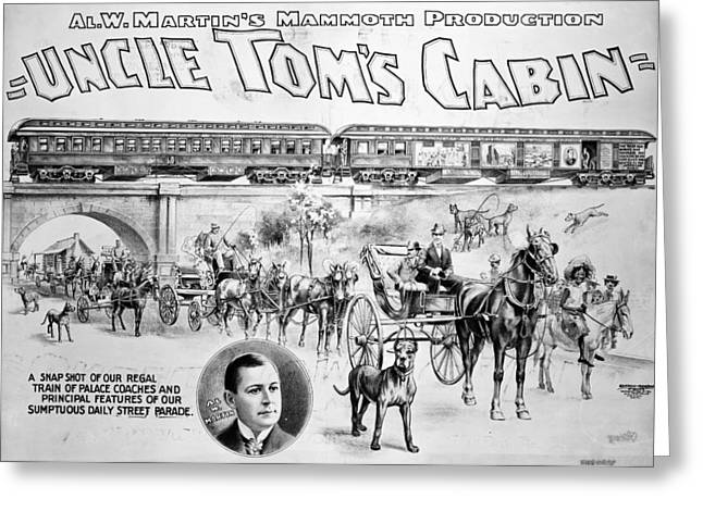 Uncle Tom's Cabin, 1898 Greeting Card by Granger