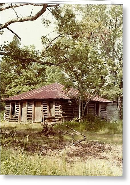 Uncle Toms Cabin Brookhaven Mississippi Greeting Card by Michael Hoard