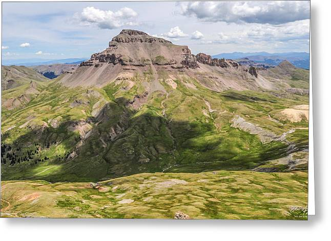 White River Greeting Cards - Uncompahgre Peak 2 Greeting Card by Aaron Spong