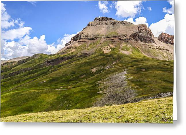 Thin Greeting Cards - Uncompahgre Peak Greeting Card by Aaron Spong