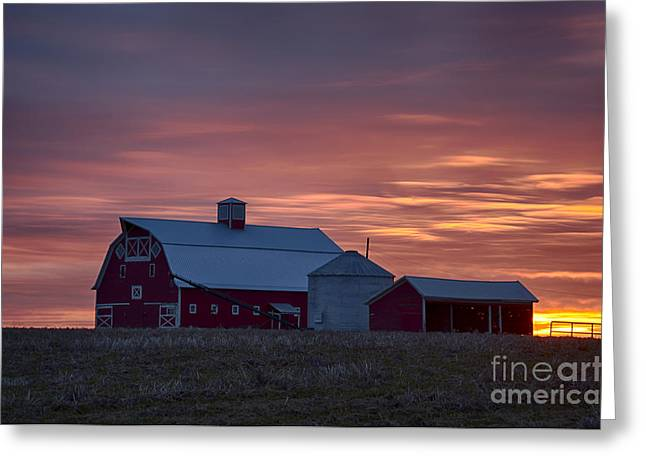 Cupola Greeting Cards - Under Colorful Skies Greeting Card by Idaho Scenic Images Linda Lantzy
