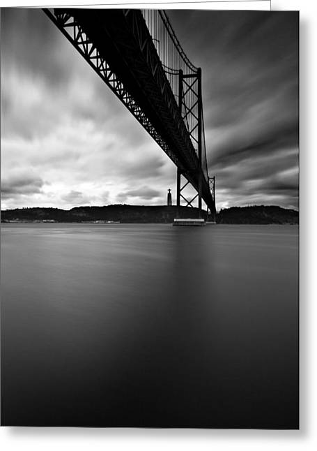 Lisbon Greeting Cards - Under Greeting Card by Jorge Maia